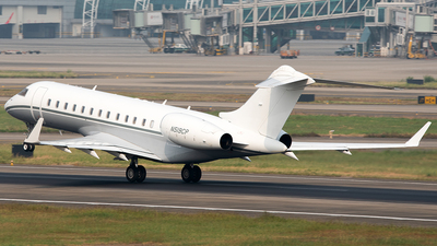 A picture of N519CP - Bombardier Global Express - [9200] - © ZGGG RWY01