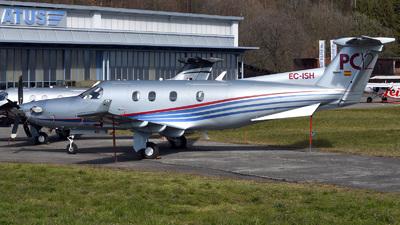 A picture of ECISH - Pilatus PC12/45 - [498] - © Mirko Bleuer