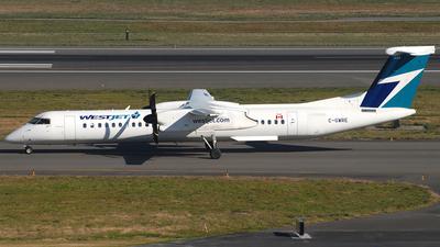 A picture of CGWRE - De Havilland Canada Dash 8400 - WestJet - © Jason Whitebird