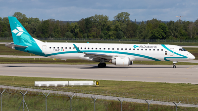 A picture of IADJP - Embraer E195LR - Air Dolomiti - © FlorianWerner