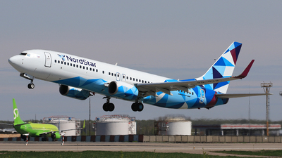 A picture of VQBVW - Boeing 7378AS - NordStar - © ShipSash