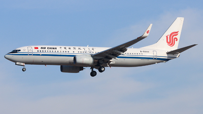 B-5500 - Boeing 737-89L - Air China