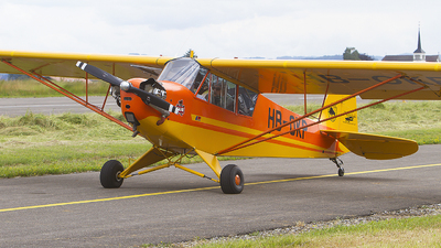 HB-OKP - Piper J-3C-65 Cub - Private
