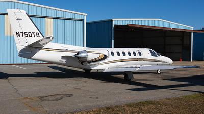 N750TB - Cessna 550 Citation II - Private