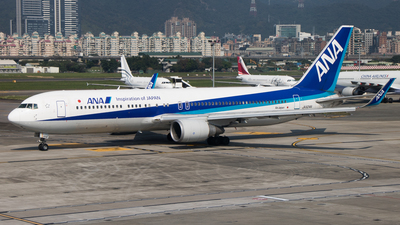 JA624A - Boeing 767-381(ER) - All Nippon Airways (ANA)