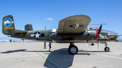 NL3476G - North American B-25J Mitchell - Private