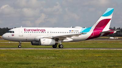 D-AGWO - Airbus A319-132 - Eurowings
