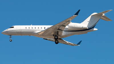 N2QE - Bombardier BD-700-1A11 Global 5000 - Private