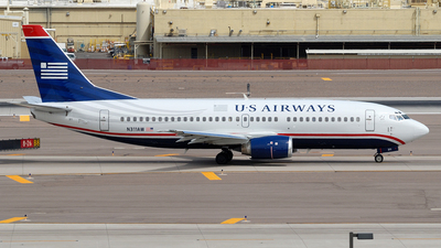 N311AW - Boeing 737-3G7 - US Airways