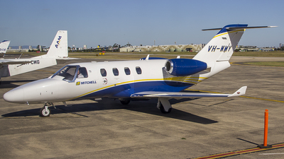 A picture of VHWMY - Cessna 525 Citation M2 - [5250856] - © TreyJPearson