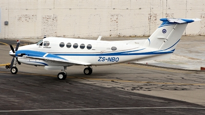 ZS-NBO - Beechcraft B200 Super King Air - Private