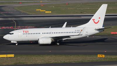 A picture of DAHXF - Boeing 7377K5 - [35136] - © Tjorve Henzler