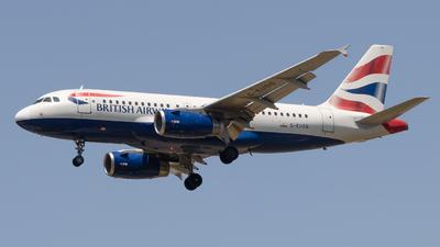 A picture of GEUOG - Airbus A319131 - British Airways - © JM Deza