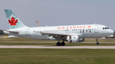 A picture of CGBIA - Airbus A319114 - Air Canada - © Hongyu Wang