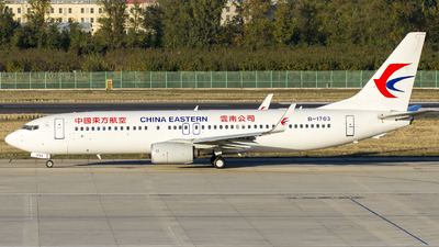 B-1703 - Boeing 737-89P - China Eastern Airlines
