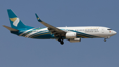 A picture of A4OBL - Boeing 73781M - Oman Air - © Timo Frieg