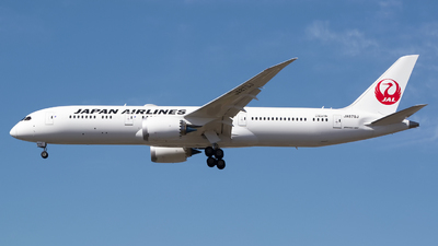 JA879J - Boeing 787-9 Dreamliner - Japan Airlines (JAL)