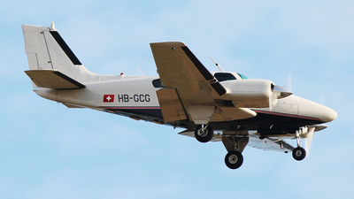 A picture of HBGCG - Beech 9555 Baron - [TC76] - © n94504