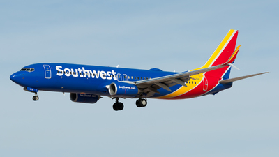 N8672F - Boeing 737-8H4 - Southwest Airlines