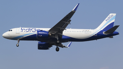 A picture of VTIJN - Airbus A320271N - IndiGo - © Akshay M