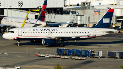 N626AW - Airbus A320-231 - US Airways