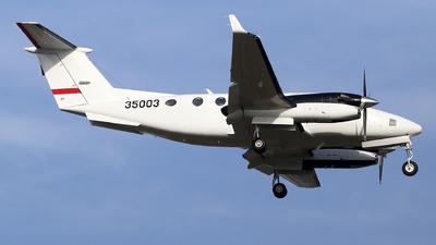 35003 - Beechcraft B300 King Air 350i - Kazakhstan - Border Guard