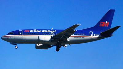 G-BVKA - Boeing 737-59D - British Midland