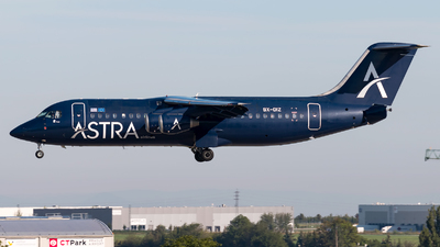 SX-DIZ - British Aerospace BAe 146-300 - Astra Airlines