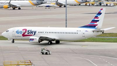 OM-GTA - Boeing 737-4Q8 - Go2Sky