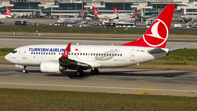 TC-JKO - Boeing 737-752 - Turkish Airlines