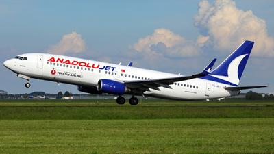 TC-JGT - Boeing 737-8F2 - AnadoluJet