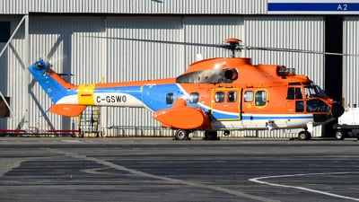C-GSWO - Eurocopter AS 332L Super Puma - Private