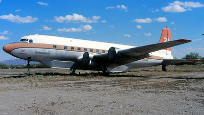N90MA - Douglas DC-6 - T & G Aviation