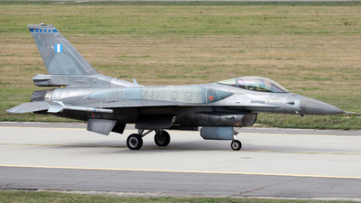 511 - General Dynamics F-16CJ Fighting Falcon - Greece - Air Force