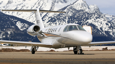 N166TX - Cessna 525 Citation CJ1 - Private