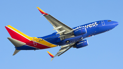 A picture of N223WN - Boeing 7377H4 - Southwest Airlines - © John Mageropoulos