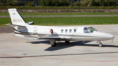 A picture of N23VK - Cessna 501 Citation ISP - [5010175] - © Fabrizio Gandolfo