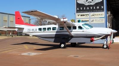 ZS-MLW - Cessna 208B Grand Caravan EX - Private