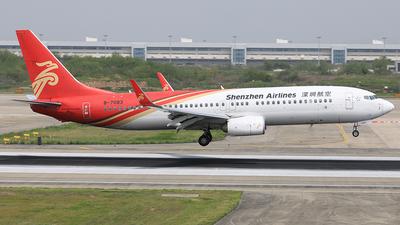 B-7083 - Boeing 737-87L - Shenzhen Airlines