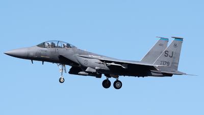 87-0179 - McDonnell Douglas F-15E Strike Eagle - United States - US Air Force (USAF)