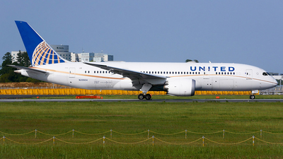 A picture of N20904 - Boeing 7878 Dreamliner - United Airlines - © Shogo Kawai
