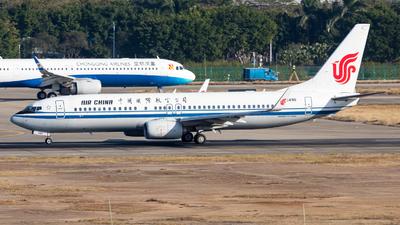 B-5496 - Boeing 737-89L - Air China