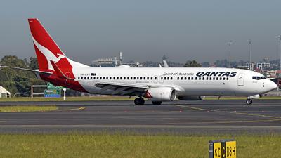 A picture of VHVXU - Boeing 737838 - Qantas - © Juan Contreras