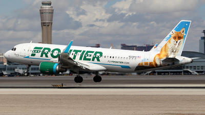 A picture of N229FR - Airbus A320214 - Frontier Airlines - © Huy Do