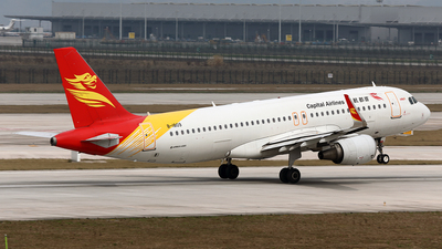 B-1809 - Airbus A320-214 - Capital Airlines