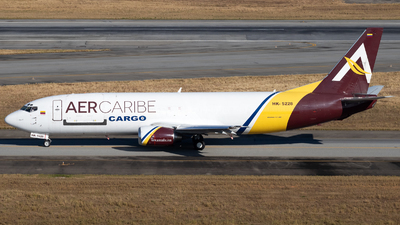 A picture of HK5228 - Boeing 7374B6(SF) - AerCaribe - © Antonio Carlos Carvalho Jr.