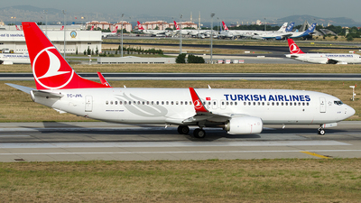 TC-JVL - Boeing 737-8F2 - Turkish Airlines
