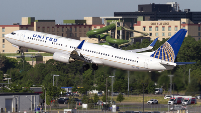 A picture of N47414 - Boeing 737924(ER) - United Airlines - © Jeremy D. Dando