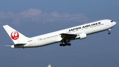 JA8365 - Boeing 767-346 - Japan Airlines (JAL)