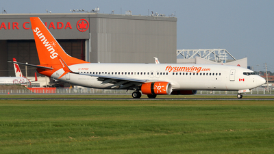 C-FPRP - Boeing 737-8FH - Sunwing Airlines